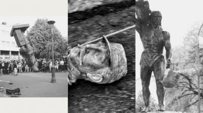 Las estatuas se tambalean