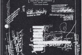 Lo borrado, lo visible y lo que resta. Chile Project [Re-classified] como palimpsesto