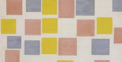 Piet Mondrian - Composition with colour planes 1917 by Piet Mondrian (1872-1 - (MeisterDrucke-407020)