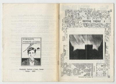 Dos números recuperados de Berthe Trépat,  la revista de Bruno Montané y Roberto Bolaño